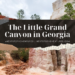 the little Grand Canyon in Georgia